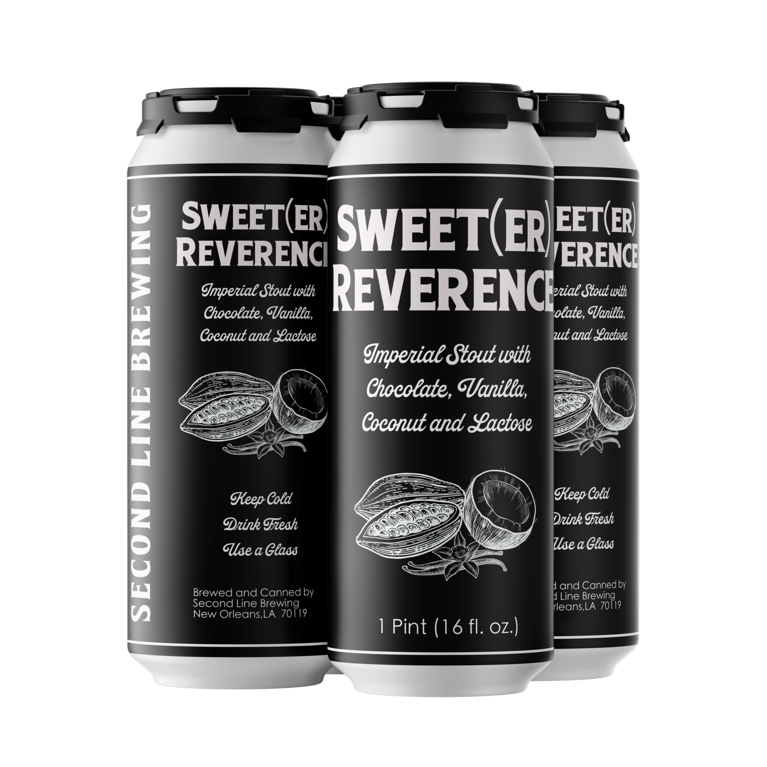 Sweet(er) Reverence - 4pk of 16oz Cans