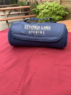 Second Line Brewing Travel Blanket