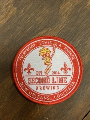 Second Line Brewing Logo Patch