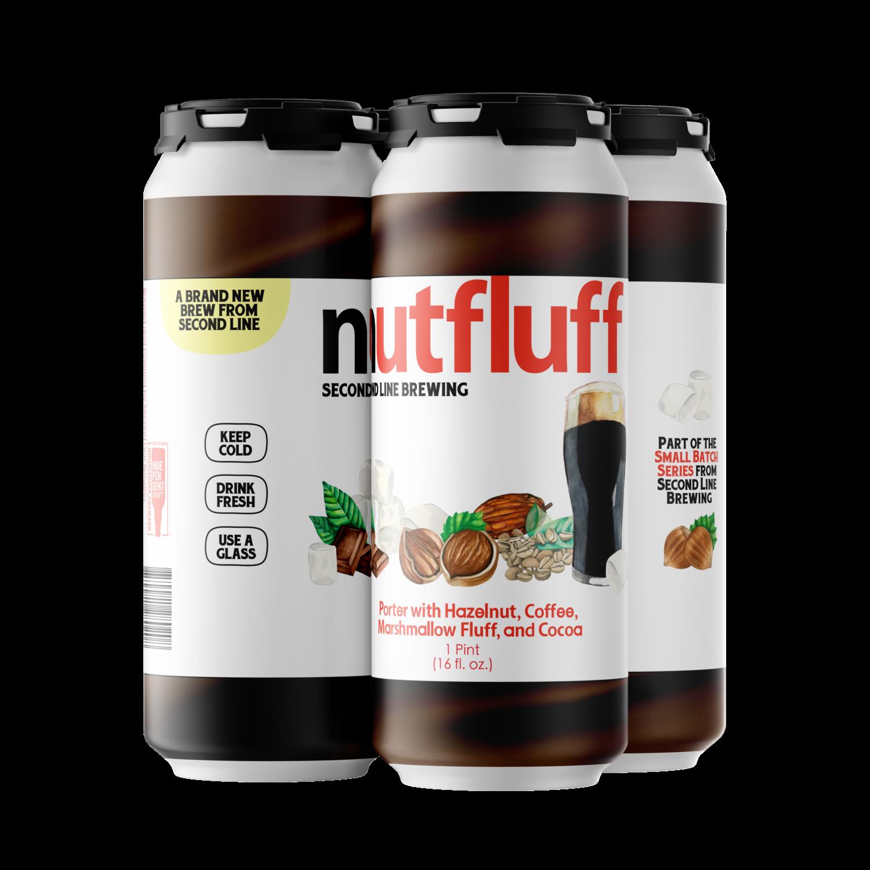 Nutfluff Porter - 4pk of 16oz Cans