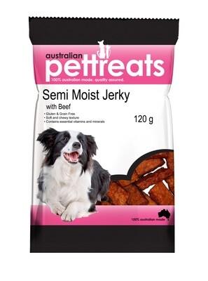 Semi Moist Jerky Beef.....from