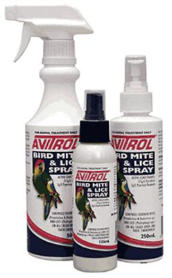 Avitrol Bird Mite Lice Spray 250ml