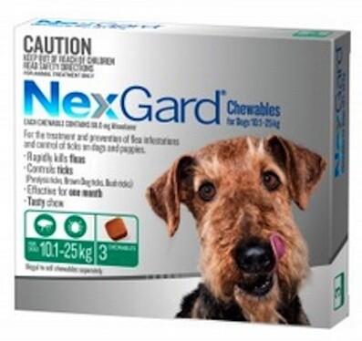 Nexgard Large Dog (10.0-25kg) 3 Pack