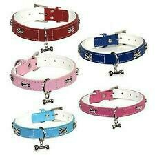 Dogue Bones Leather Dog Collar.....from