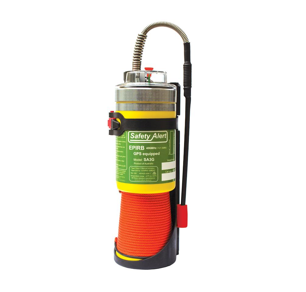 Safety Alert EPIRB GPS SA3G- 10 year battery life, 10 year warranty