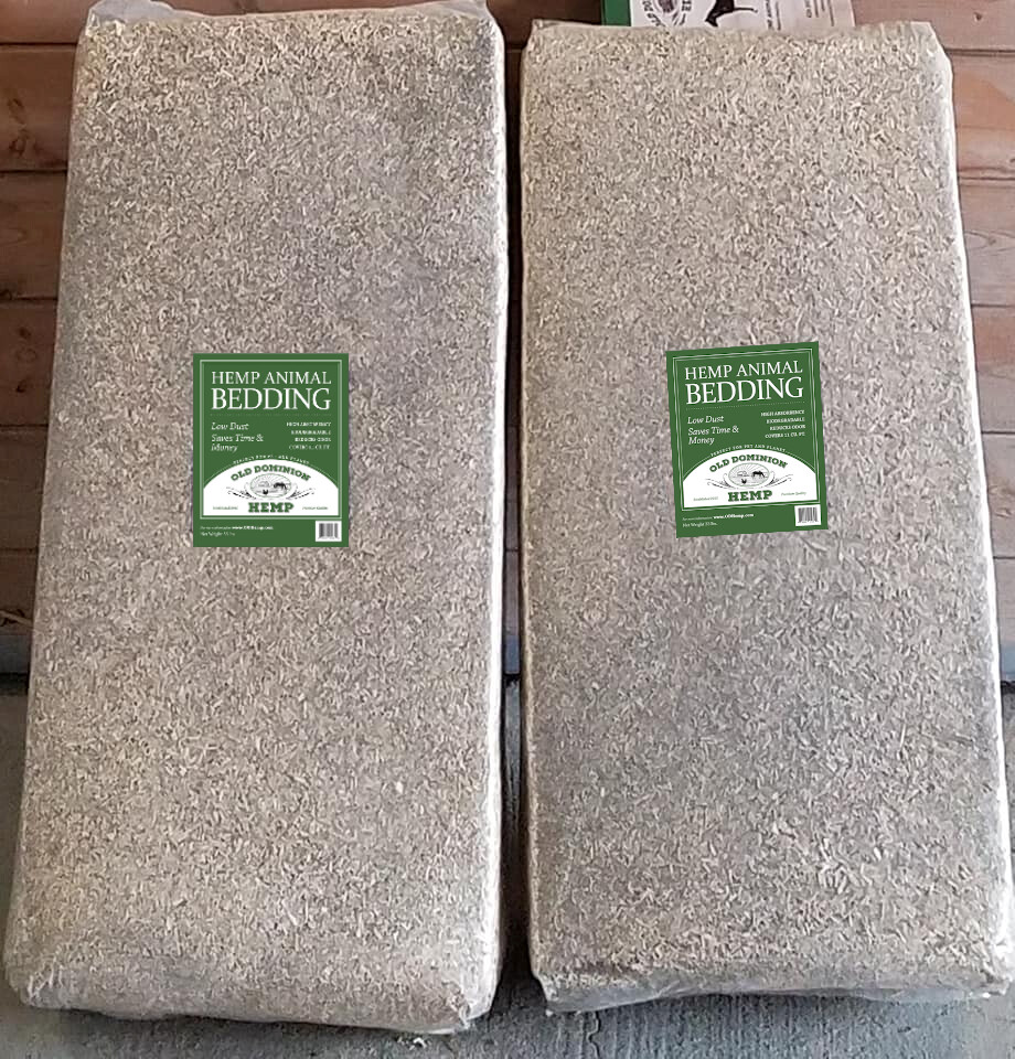 Hemp Bedding for Chickens, Horses, small animals, reptiles