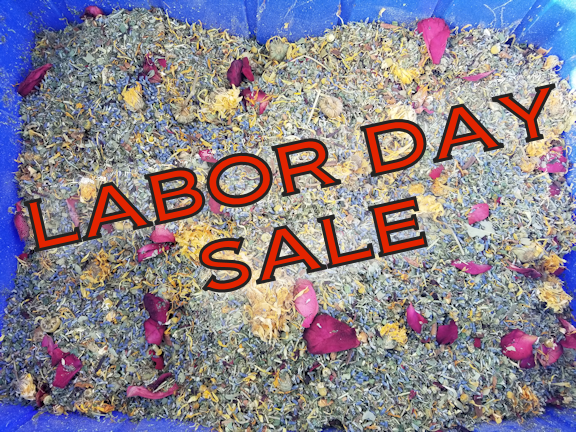 Labor Day Sale!! Original Coop Enhancer and Pest Deterrent.  A mixture of 20+ Herbs.  Picking up at Farm or Shop in Pittsgrove.