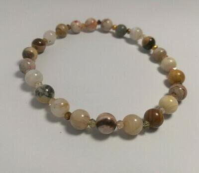 Crazy Agate Bracelet