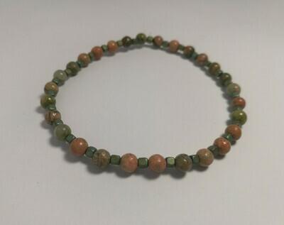 Small Agate Bracelet