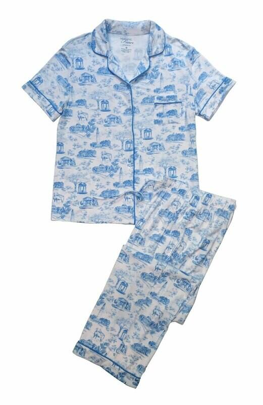 Long Pants — Short Sleeves — White