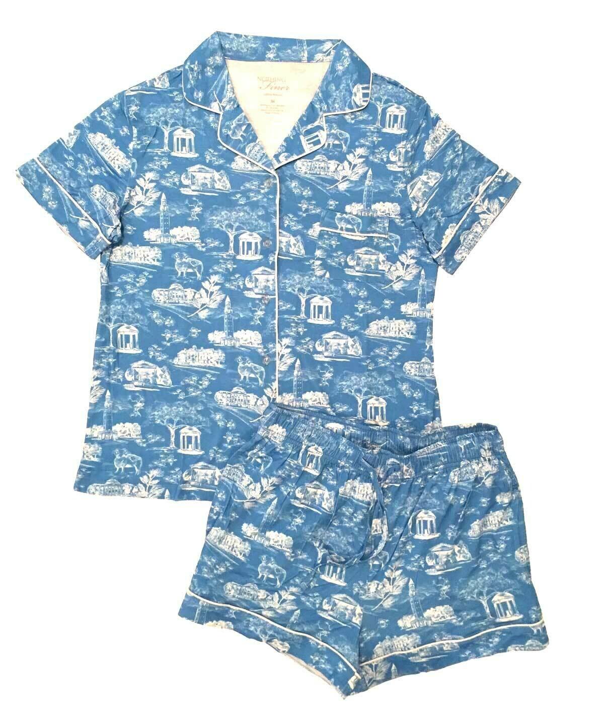 Shorts — Short Sleeves — Blue