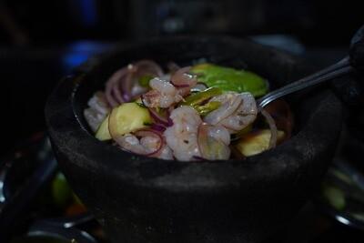 Aguachile Shrimp | Camarones Aguachile*