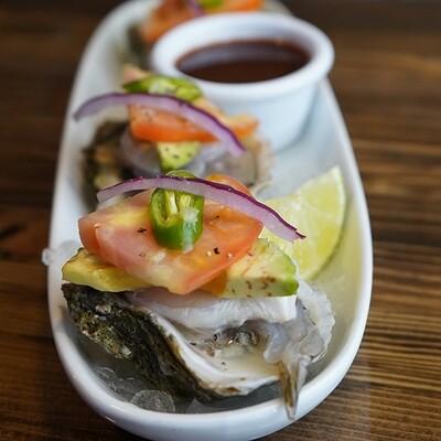 Special Fresh Oysters   Ostiones Preparados