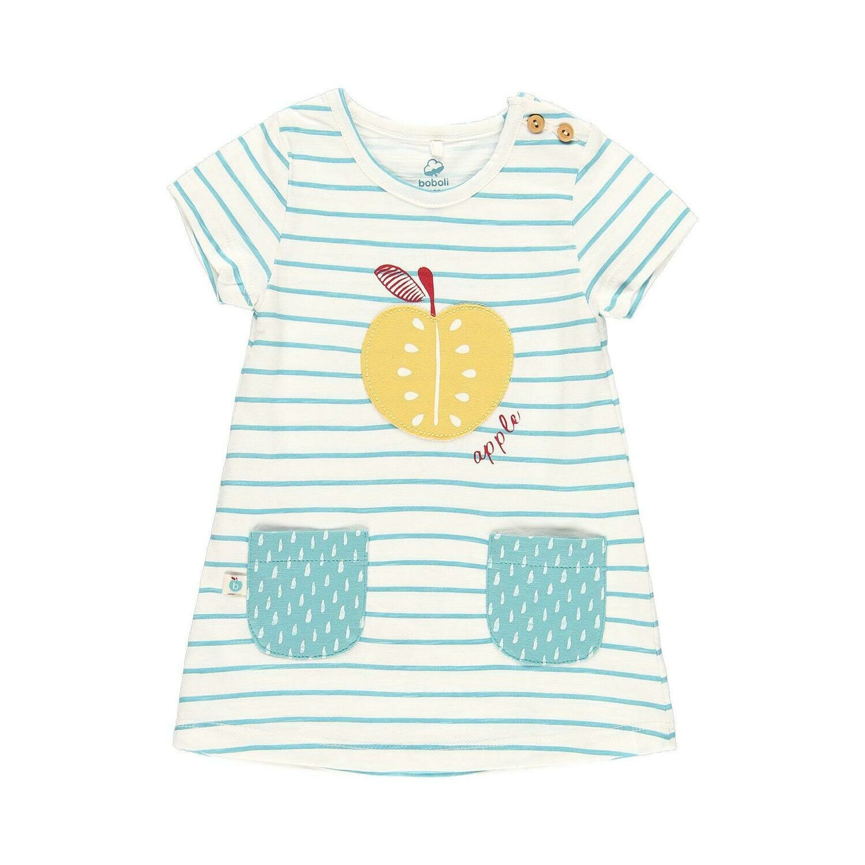 Vestido punto de bebé niña  BOBOLI
