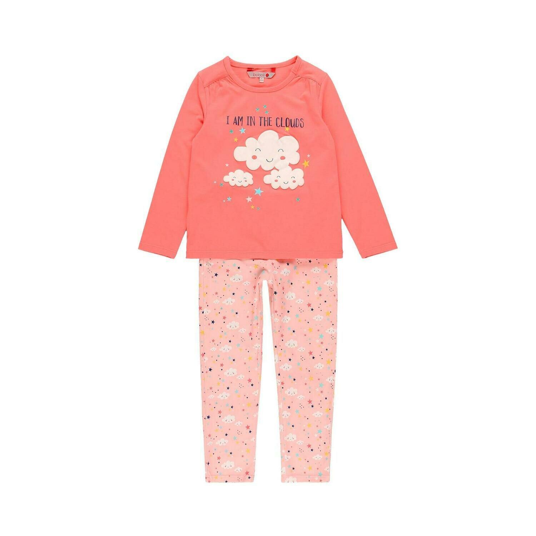 Pijama punto elástico de niña  BOBOLI
