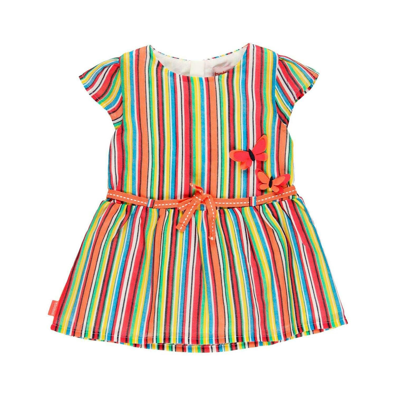 Vestido gasa de bebé niña  BOBOLI