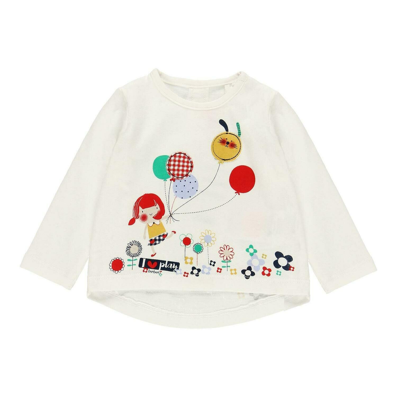 Camiseta punto de bebé niña  BOBOLI