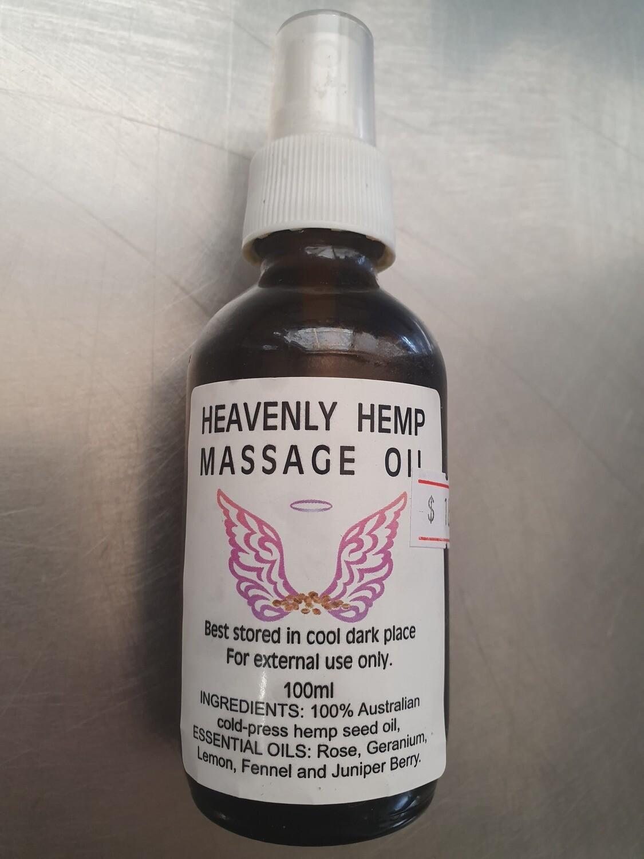 Heavenly Hemp Massage Oil