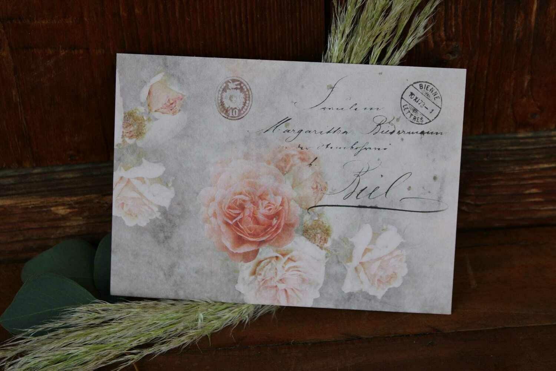 """Karte """"Postkarte"""""""