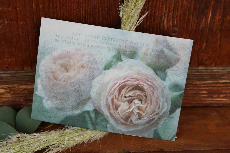 """Karte """"Gartenrose"""""""