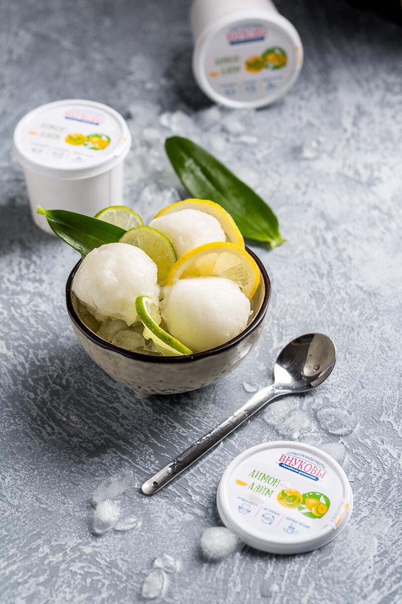 Сорбет Лимон-лайм