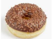 Donut glaçage Chocolat