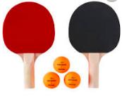 set tennis de table SMALL avec 2 raquettes et 3 balles