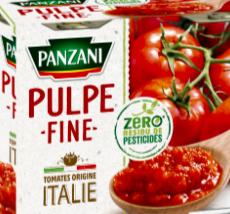 pulpe/sauce tomate 400g