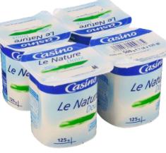yogurt nature 4x125g