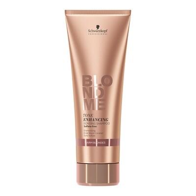 BlondMe Enhance Bonding Shampoo Warm Blondes