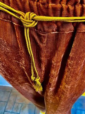 Pantalon pane de velours