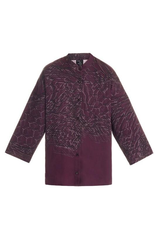 Purple oversize shirt