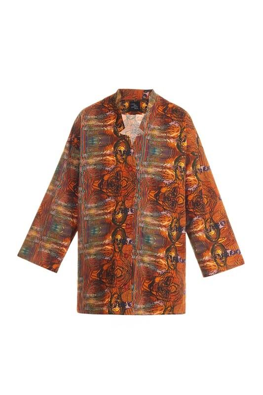 Burnt orange shirt