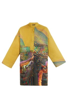 Haki oversize shirt