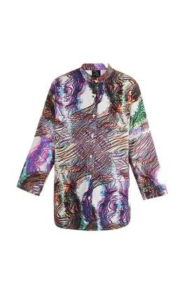 Coloured oversize shirt