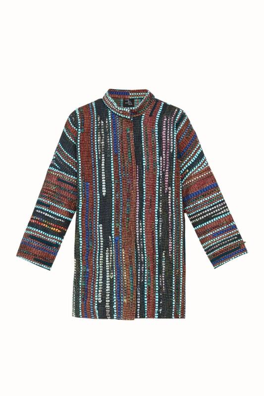 Hand woven shirt