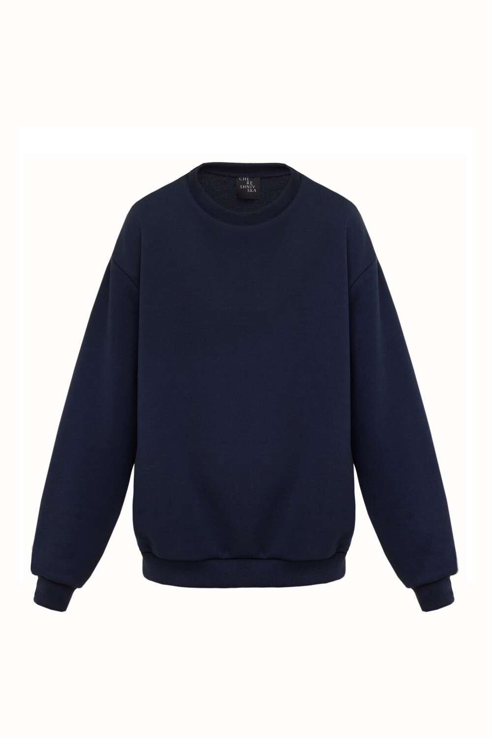 Basic navy sweatshirt