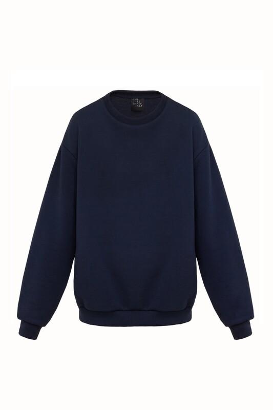 Basic navy sweatshirt