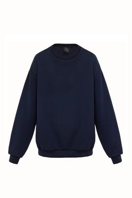 Oversize navy sweatshirt