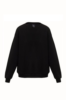 Black oversize sweatshirt