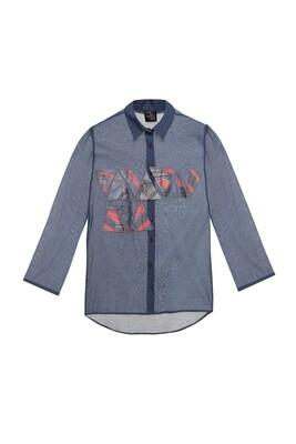 Oversize flowy shirt