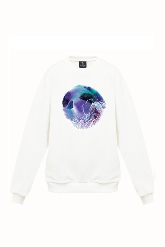 Ivory oversize sweatshirt