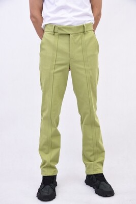 Green trousers for men