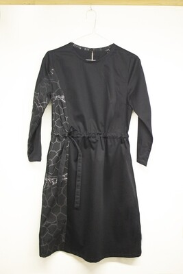 Dress with a printed detail