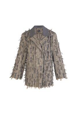 Hand woven unisex Jacket