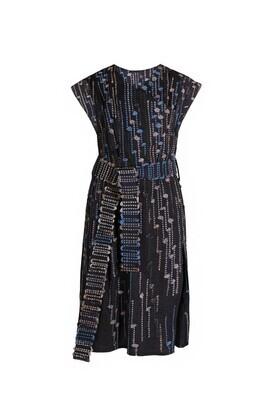 Hand woven dress