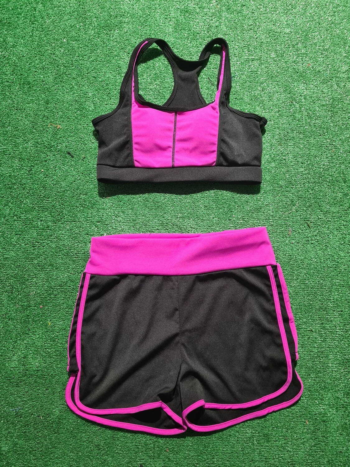 CONJUNTO TOP Y SHORT