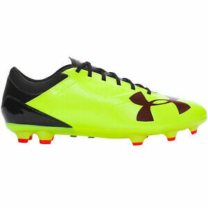 Under Armour Foco DL Firme Suelo Botas de Fútbol - Amarillo