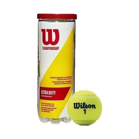 Bote 3 pelotas Tenis WILSON