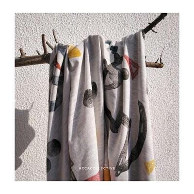 Echarp em jersey de algodão CCACollective